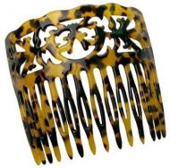 Faux Turtle Shell Hair Comb