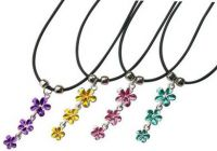 Dangling Plumeria Necklace