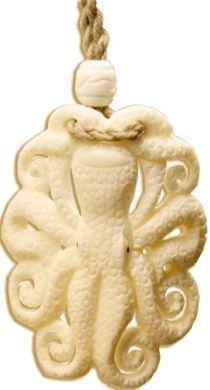 Octopus Bone Necklace