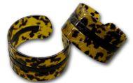 Carved Large Turtle Shell Bracelet