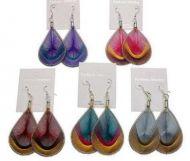 Dreamcatcher Earrings-Metalic Colors