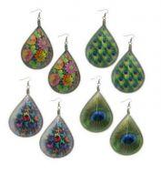 Dreamcatcher Earrings nature designs