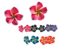 Fimo Flower Earrings - Posts