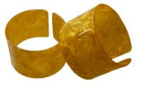 5 cm Gold Colored Turtle Shell Bracelet