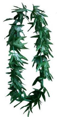 Green Leaf Lei