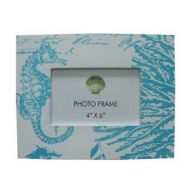 Seahorse themed picture frame