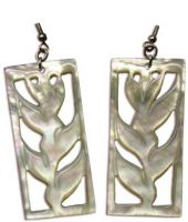 Heliconia Shell Earrings