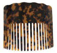 Turtle Shell Hair Comb - Plain