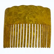 Turtle Shell Hair Comb - Gold