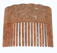 Turtle Shell Hair Comb - Pink