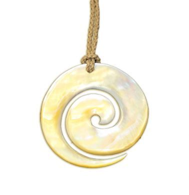 Gold Mother Of Pearl Necklace