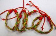 Rasta With Wax Cord Bracelet