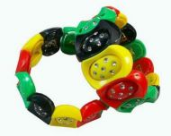 Plastic Rasta Bracelet (B)