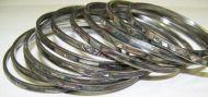 Abalone bangles-thin